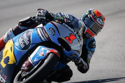 Record-breaking Rabat rules opening day in Moto2™