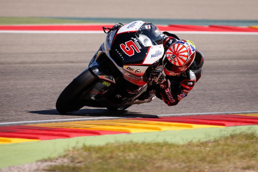 Johann Zarco, Ajo Motorsport, Aragón GP FP2
