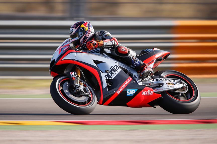 Stefan Bradl, Aprilia Racing Team Gresini, Aragón GP FP2
