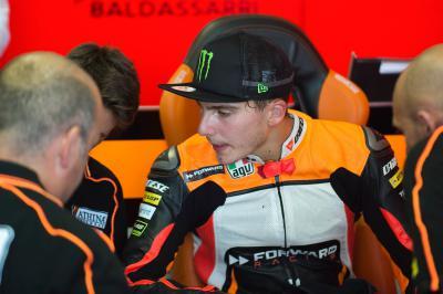 Baldassarri seguirá como piloto de Forward Racing en 2016
