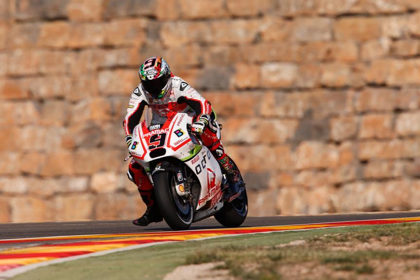 Danilo Petrucci, Octo Pramac Racing, Aragón GP FP2