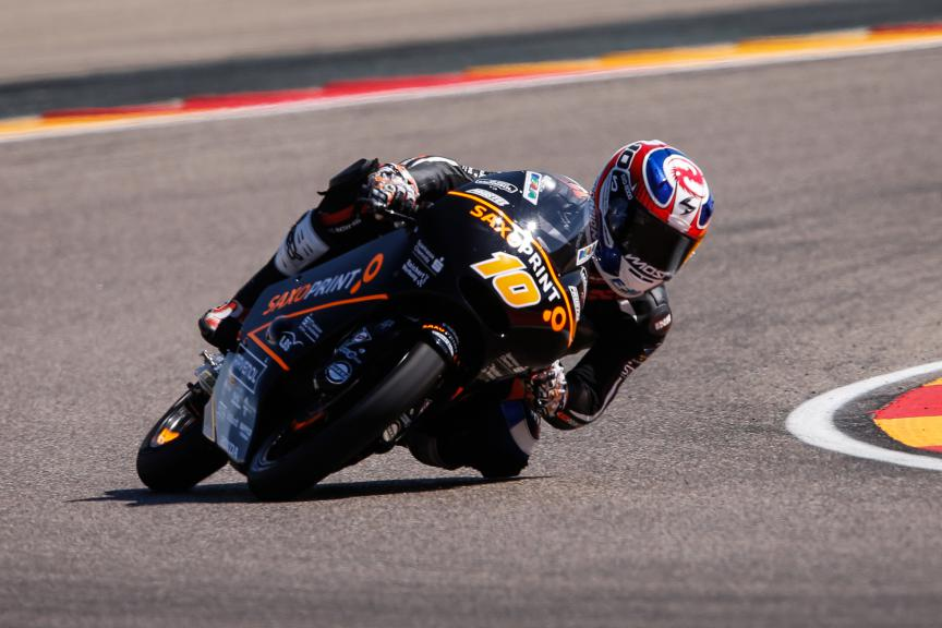 Alexis Masbou, Saxoprint RTG, Aragón GP FP2