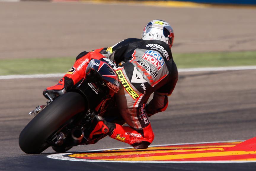 Sandro Cortese, Dynavolt Intact GP, Aragón GP FP2