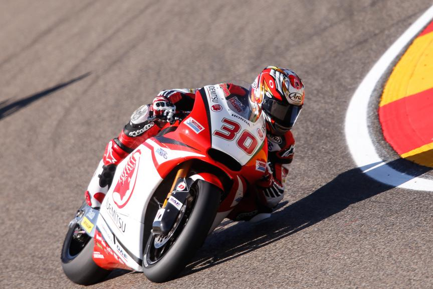 Takaaki Nakagami, Idemitsu Honda Team Asia, Aragón GP FP2