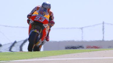 Los entrenamientos libres de MotoGP™ a cámara lenta. #AragonGP