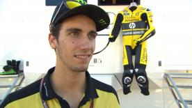 Rins claims that the grip wasn't great and that they need to improve the set-up a little before the race.