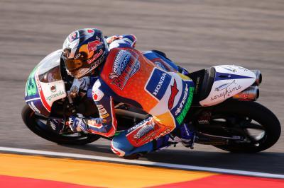 Bastianini impone su ritmo el viernes en Moto3™