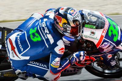 Bastianini mène la première séance Moto3™