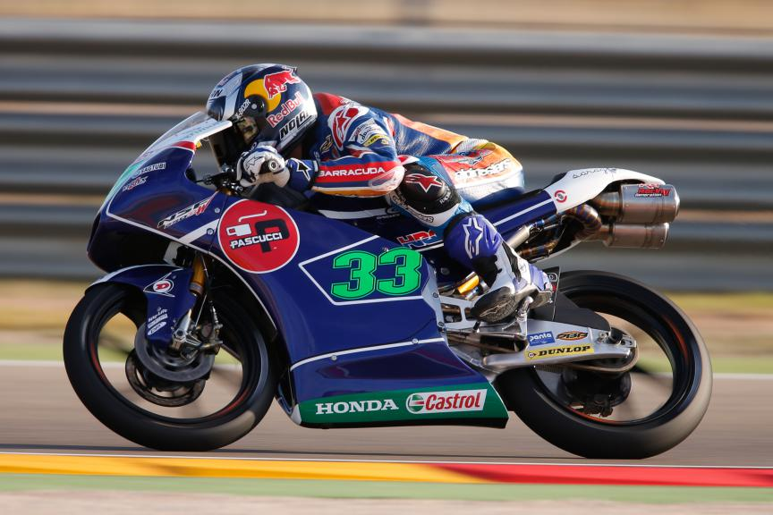 Enea Bastianini, Gresini Racing Team Moto3, Aragón GP