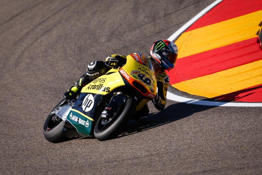 Alex Rins, Paginas Amarillas Hp 40, Aragón FP2