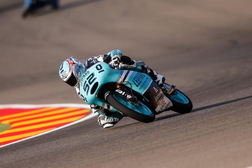 Danny Kent, Leopard Racing, Aragón GP FP2