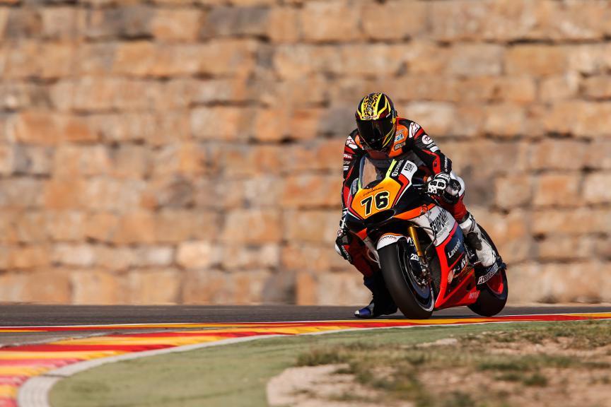 Loris Baz, Forward Racing, Aragón GP FP2