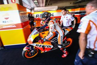 "Marquez: ""Jorge is riding at a high level"""
