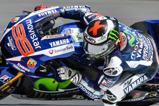 Lorenzo sets blistering pace in FP1