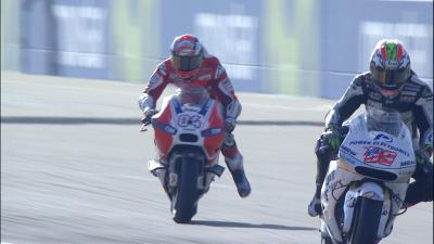 Dovizioso's big moment in FP1