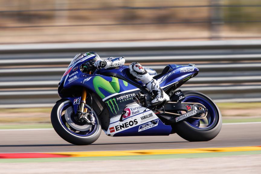 Jorge Lorenzo, Movistar Yamaha MotoGP, Aragón GP FP2