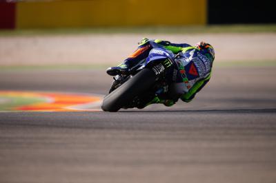 Rossi: «El inicio del fin de semana no es malo»