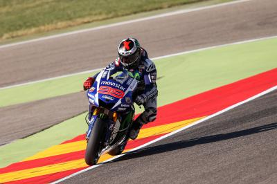 Lorenzo enjoys perfect opening day at Aragon