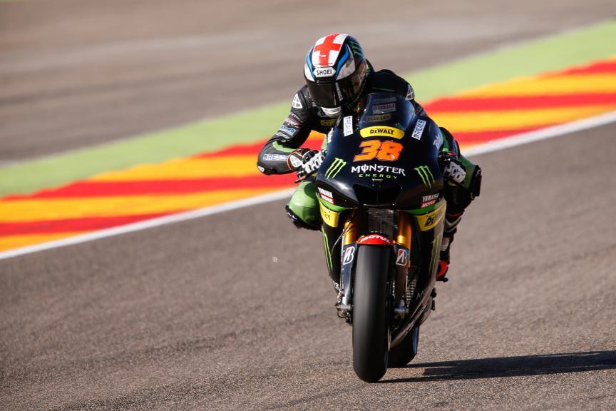 Bradley Smith, Monster Yamaha Tech 3, Aragón GP FP2