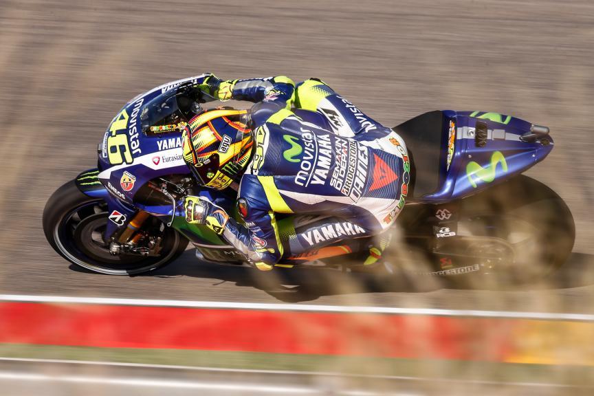 Valentino Rossi, Movistar Yamaha MotoGP, Aragón GP FP2