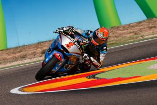 Rabat in Aragon auf der Pole Position