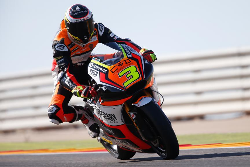 Simone Corsi, Forward Racing,Aragón GP QP