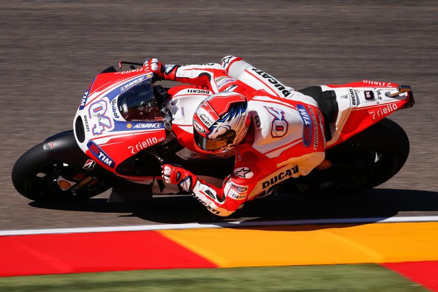 Andrea Dovizioso, Ducati Team, Aragón GP Q1