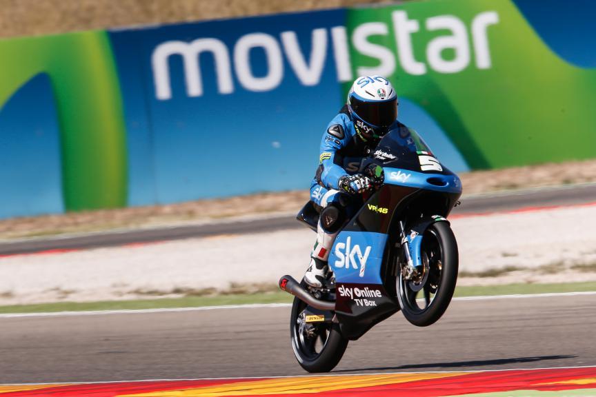 Romano Fenati, SKY Racing Team VR46, Aragón GP QP
