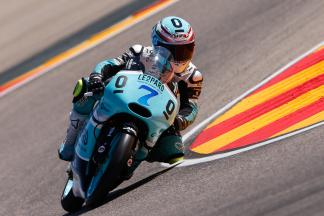 Vazquez sets fastest time of weekend in Moto3™ FP3