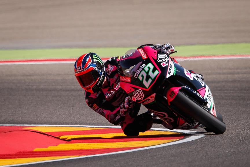 Sam Lowes, Speed Up Racing, Aragón GP QP