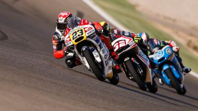 Moto3™ race guide for the Aragon GP
