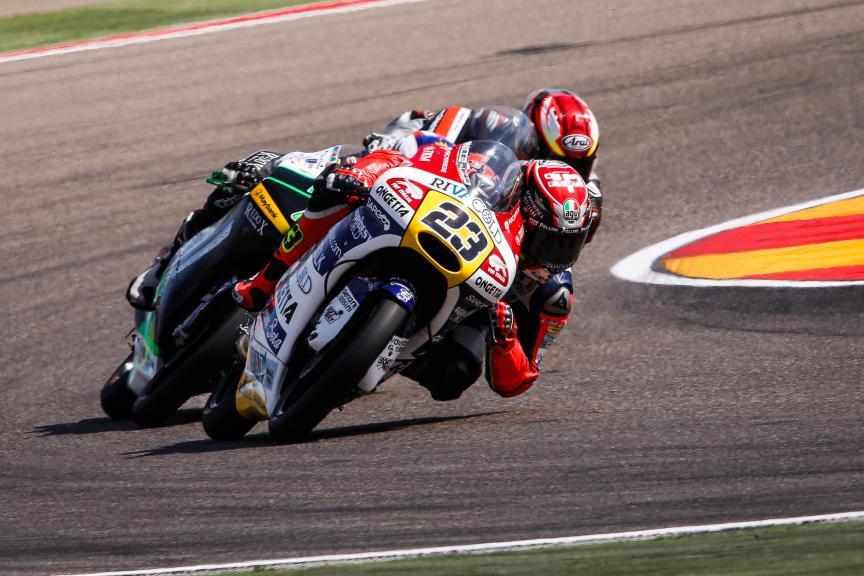 Niccolò Antonelli, Ongetta-rivacold, Aragón GP QP