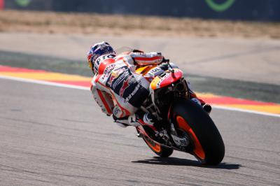 Pedrosa prevails in FP4