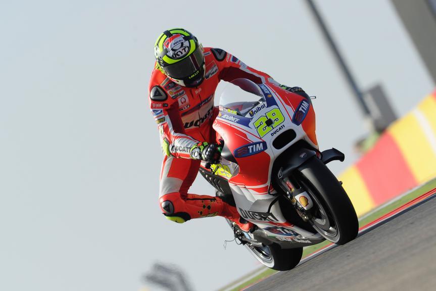 Andrea Iannone, Ducati Team, Aragón GP Q2