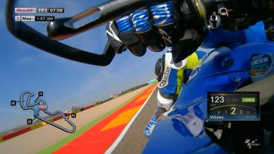 OnBoard lap of Aragon with Viñales