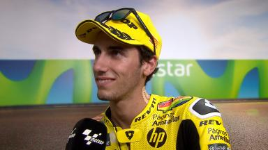Rins: 'I feel strong for tomorrow'