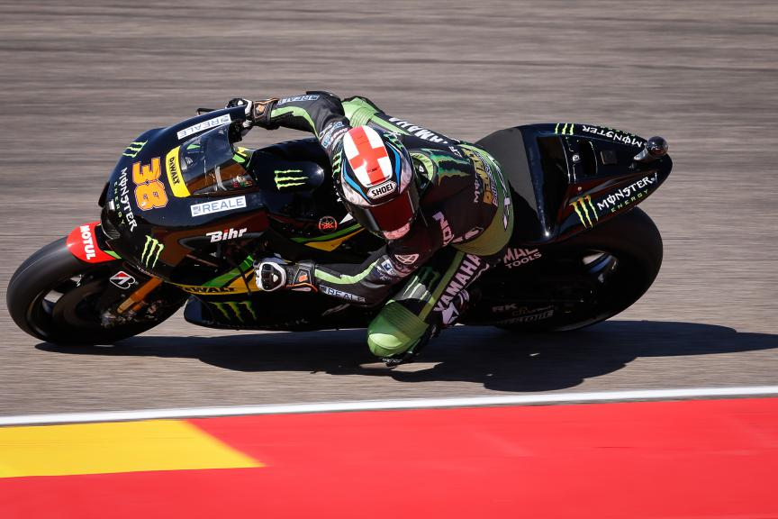 Bradley Smith, Monster Yamaha Tech 3, Aragón GP Q2
