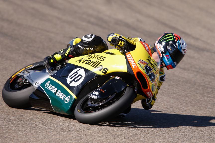 Alex Rins, Paginas Amarillas Hp 40, Aragón GP QP