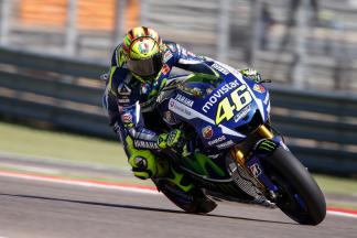 "Rossi: ""I slid too much"""