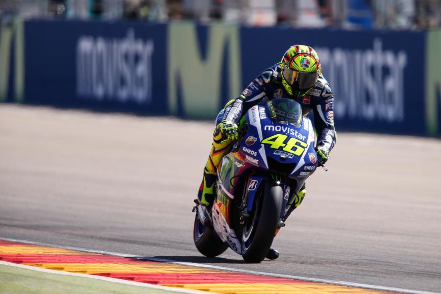 Valentino Rossi, Movistar Yamaha MotoGP, Aragón GP Q2