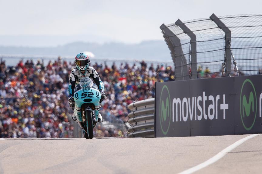 Danni Kent, Leopard Racing, Aragón GP QP