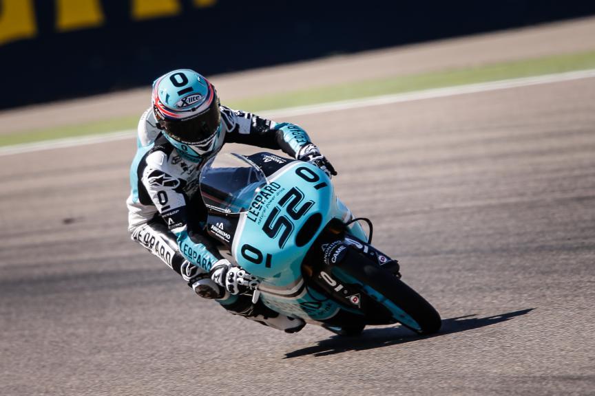 Danny Kent, Leopard Racing, Aragón GP QP