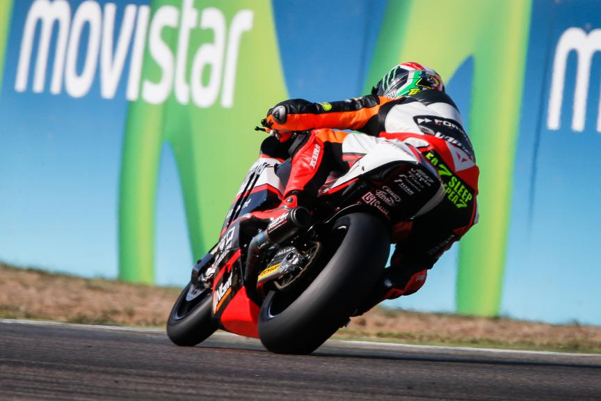 Lorenzo Baldassarri, Forward Racing, Aragón GP