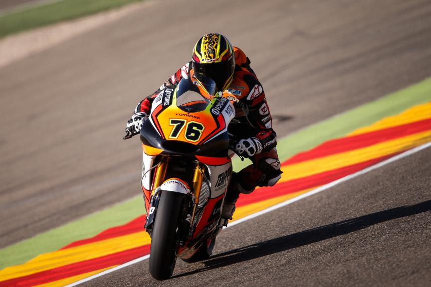 Loris Baz, Forward Racing, Aragón GP Q1