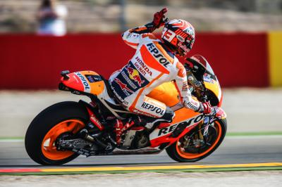 "Marquez: ""It was a nice surprise!"""