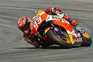 Márquez marca la referencia en la FP3 de MotoGP™