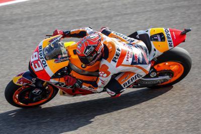 Márquez: «Ha sido una sorpresa ir tan rápido»