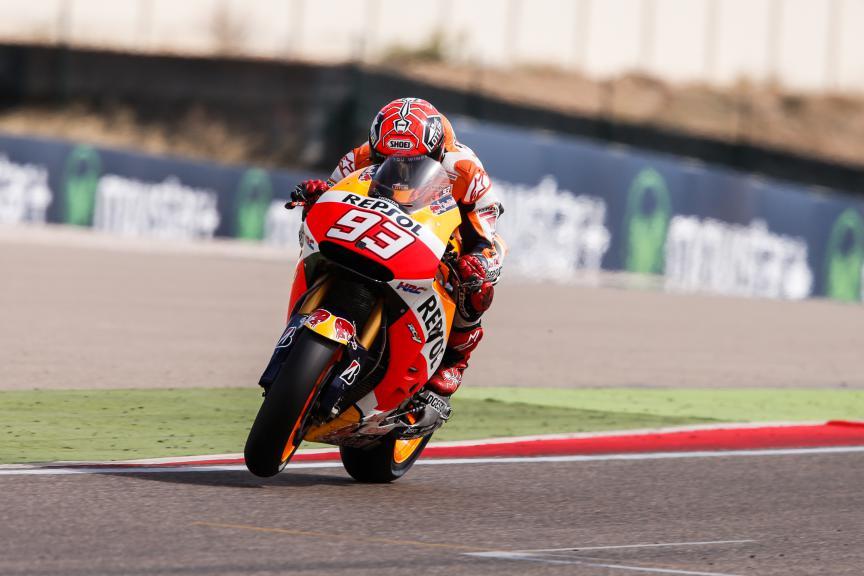 Marc Marquez, Repsol Honda Team, Aragón GP Q2