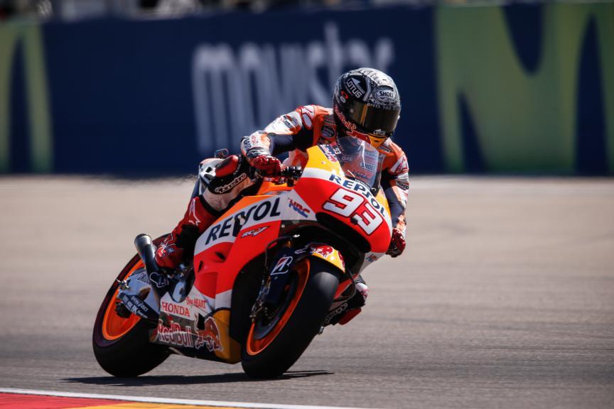 Marc Marquez, Repsol Honda Team, Aragón GP FP3