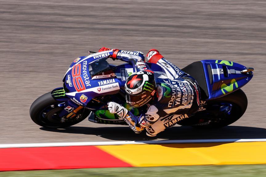 Jorge Lorenzo, Movistar Yamaha MotoGP, Aragón GP FP3